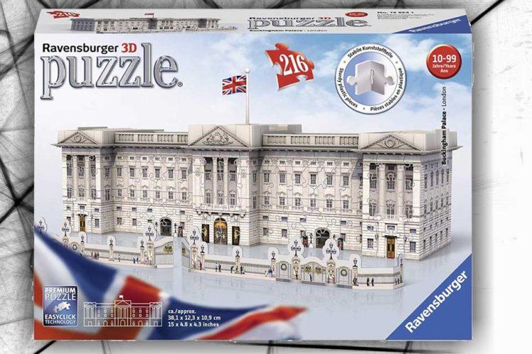 buckingam palace puzzle 3d