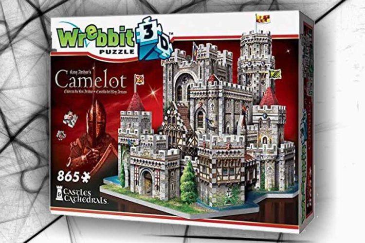 camelot re artù puzzle 3D