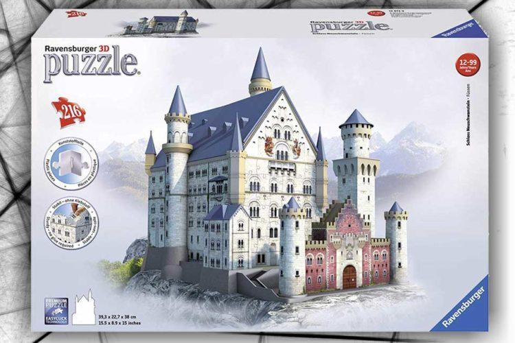 castello puzzle 3d