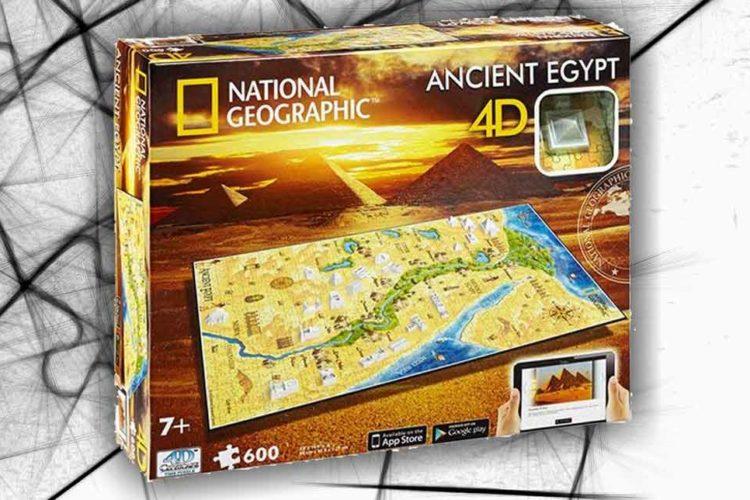 egitto antico puzzle 4d