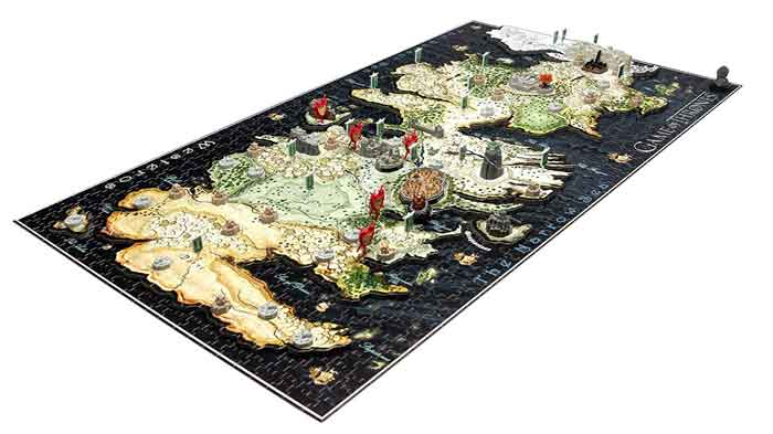 game of thornes puzzle 1400 pezzi
