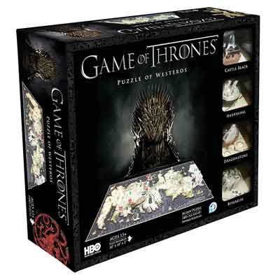 games of thrones puzzle 4D 1400