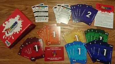 gioco tavolo 7 rosso