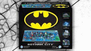gotham city puzzle 4D 1550 pezzi