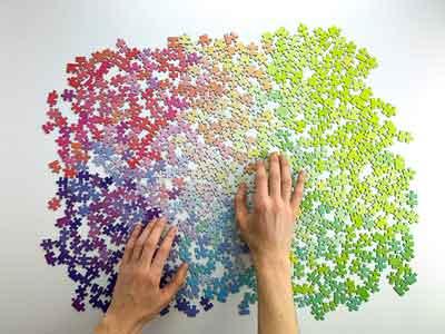 gradiente puzzle