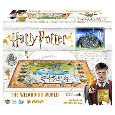 harry potter puzzle 4d