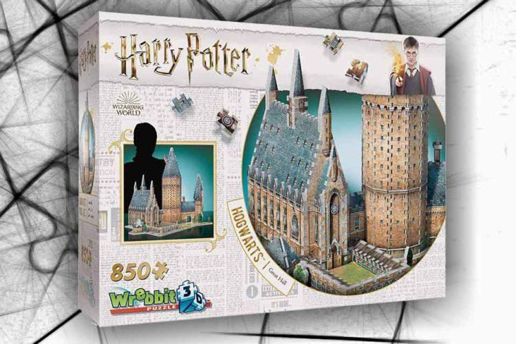 hogwards harry potter puzzle 3D