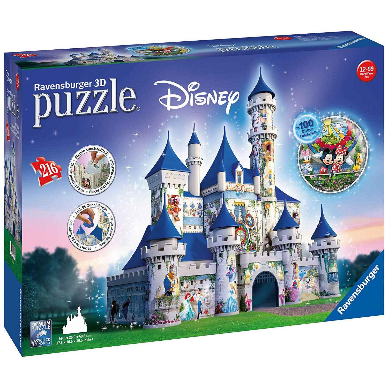migliore puzzle 3d castello disney
