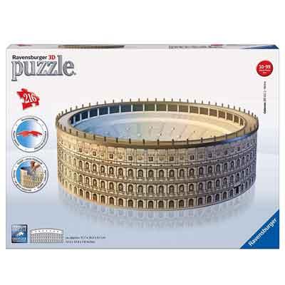 migliore puzzle 3d colosseo