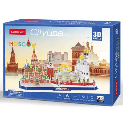 Mosca puzzle 3D