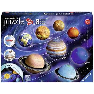 migliore puzzle 3d sistema solare
