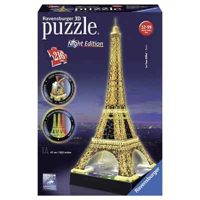 migliore puzzle 3d orre eiffel