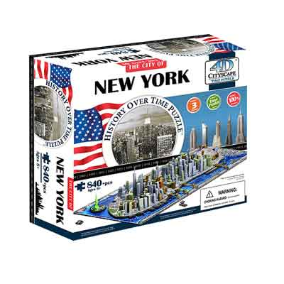 New York puzzle 4D
