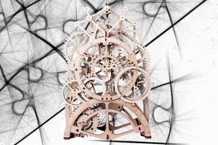 orologio puzzle 3d