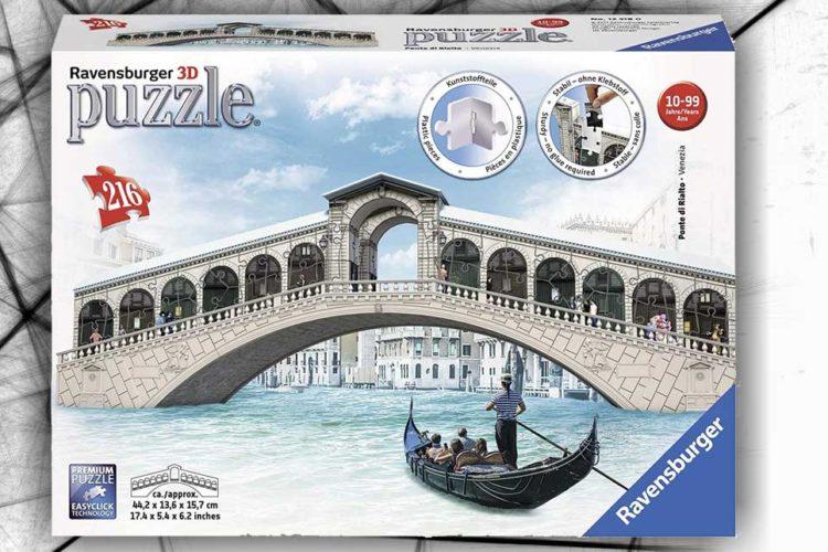 ponte venezia puzzle 3d