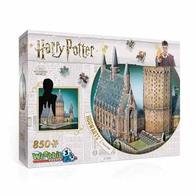 Castello di Hogwarts puzzle 3D