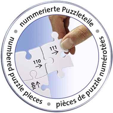puzzle 3d pezzi numerati