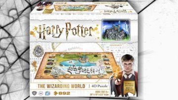 puzzle 4d harry potter