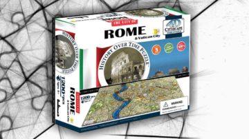 puzzle 4d roma