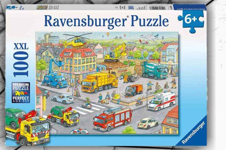 puzzle città 100 pezzi