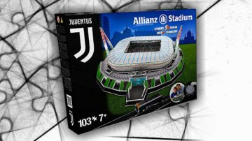 stadio juventus puzzle 3d