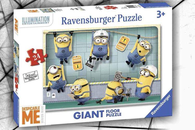 minions puzzle da pavimento