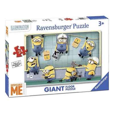 minions puzzle pavimento
