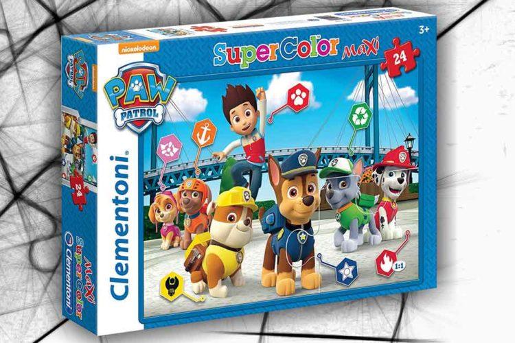 paw patrol cani puzzle