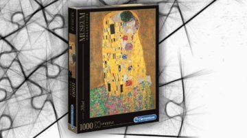puzzle bacio klimt 1000