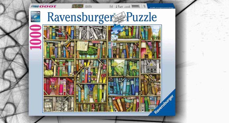 Libreria Bizzarra, un divertente puzzle da 1000 pezzi