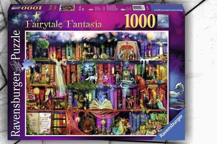 puzzle libreria fantasy 1000