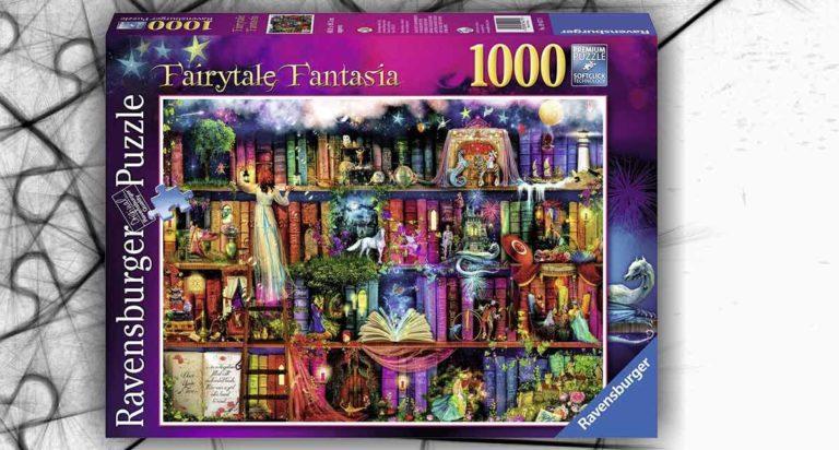 Libreria delle fate, un onirico puzzle da 1000 pezzi