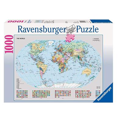 Mappamondo Politico Puzzle
