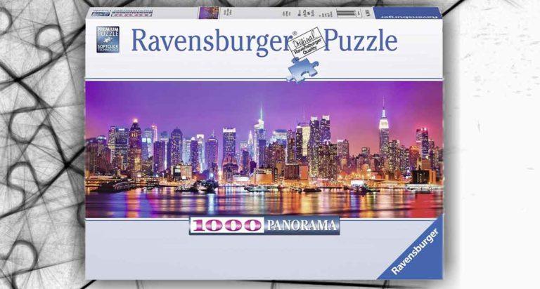Luci di Manhattan, un panoramico puzzle da 1000 pezzi