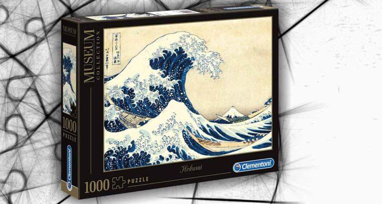 La grande onda, un orientale puzzle da 1000 pezzi di Hokusai