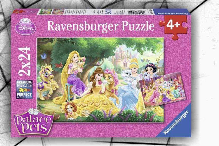 puzzle principessa disney