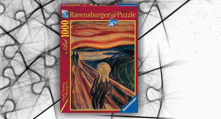 L'urlo di Edvard Munch, un fantastico puzzle da 1000 pezzi