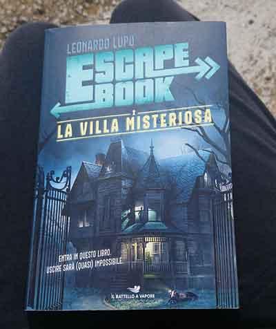 villa misteriosa librogame