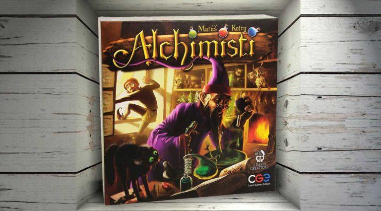 Alchimisti, un gioco da tavolo strategico di pozioni e deduzione
