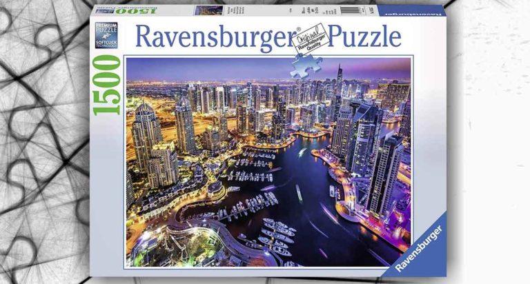 Dubai, un puzzle da 1500 pezzi Ravesburger nel golfo Persico