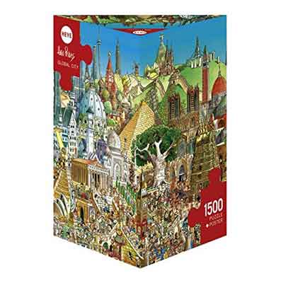 global city puzzle 1500 pezzi