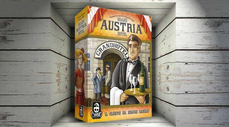 Grand Austria Hotel, uno strategico gioco da tavolo di alberghi di classe
