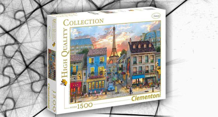 Streets of Paris, un francese puzzle da 1500 pezzi