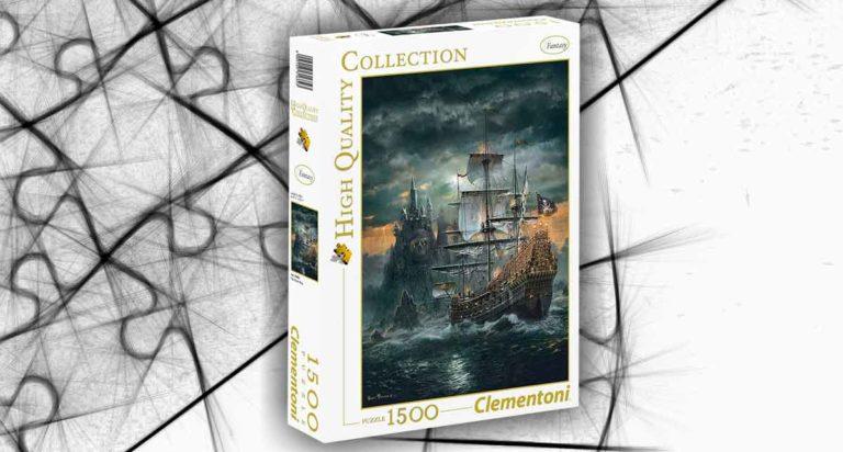 The Pirate Ship, un puzzle da 1500 pezzi della Clementoni