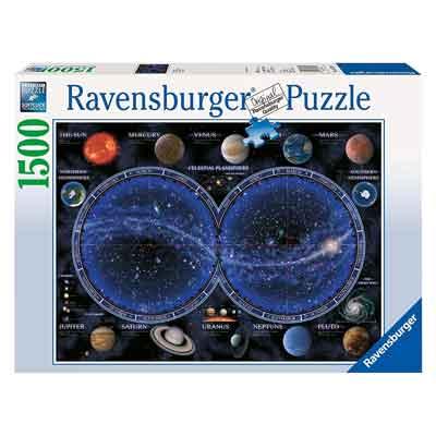planisfero celeste puzzle 1500 pezzi