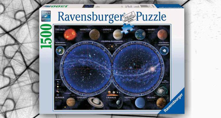 Planisfero Celeste, uno stellare puzzle da 1500 pezzi