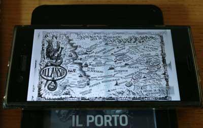 porto morte mappa