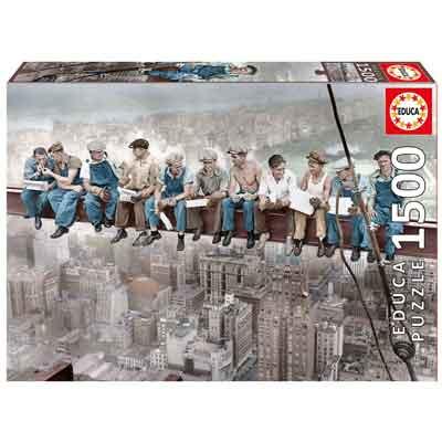 pranzo new york puzzle 1500 pezzi