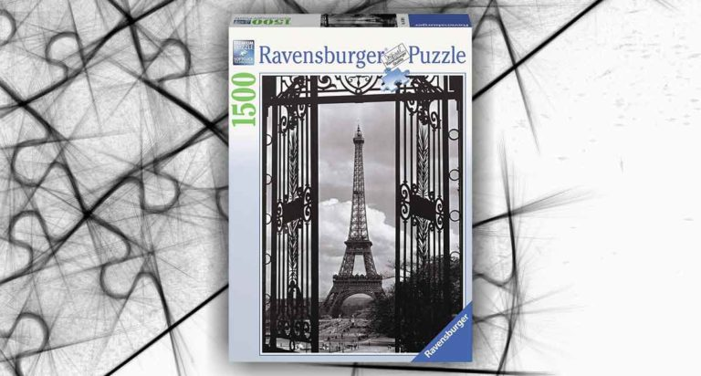 Parigi e la Torre Eiffel in un puzzle da 1500 pezzi Ravesburger