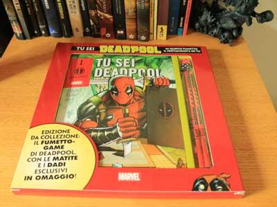 tu sei deadpool scatola